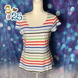 H&M Label of Graded Goods striped tee🌟🌟🌟3/$25